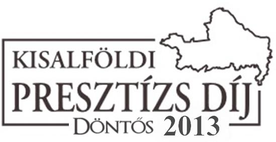 Kisalföldi Presztízs Díj - 2013