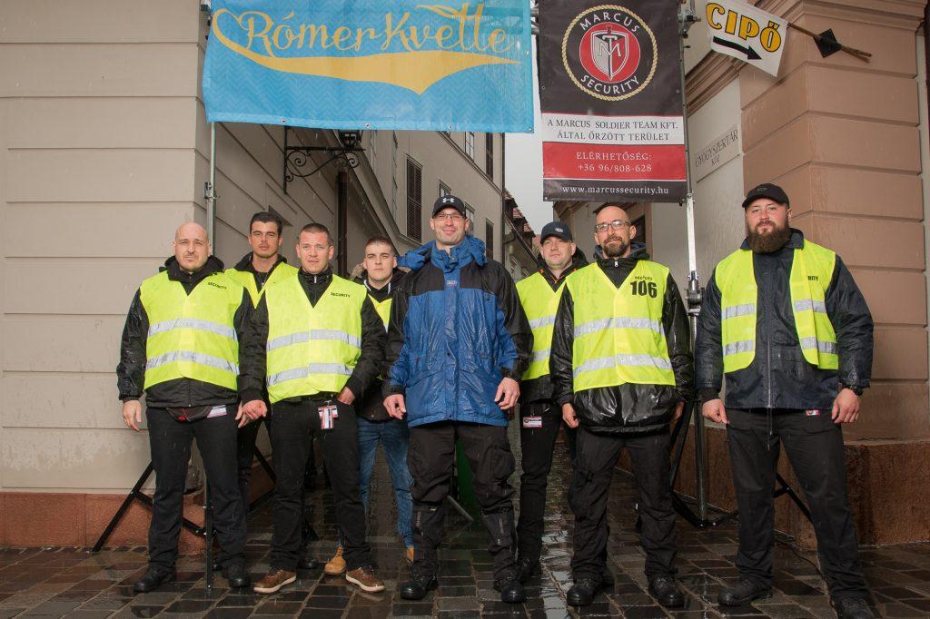 marcus security győr rómerkvelle fesztivál rendezvénybiztosítás győr