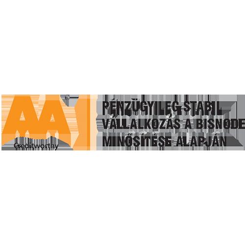 Bisnode AA tanúsítvány - 2019